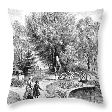 Hartford: Arsmear Grounds Throw Pillow by Granger