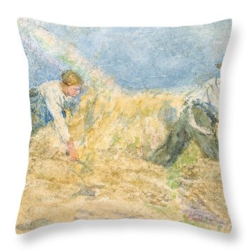 Harvester Throw Pillow by LP Smythe