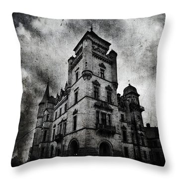 Haunted 2 Throw Pillow by Laura Melis