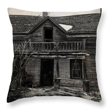 Haunting East Throw Pillow by Jerry Cordeiro