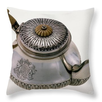 Hawaii - Royal Teapot Throw Pillow by Granger