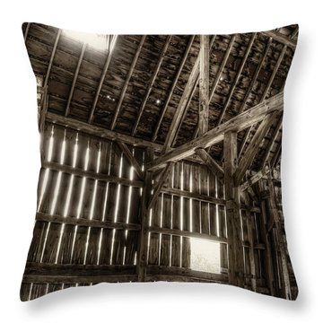 Hay Loft Throw Pillow