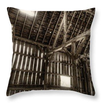 Hay Loft Throw Pillow