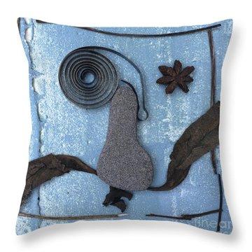 Head Throw Pillow by Bernard Jaubert