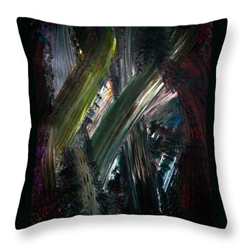 Heading For The Light Throw Pillow by Marie Jamieson