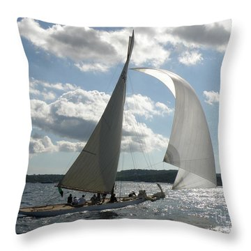 Heading Home Throw Pillow by Lainie Wrightson