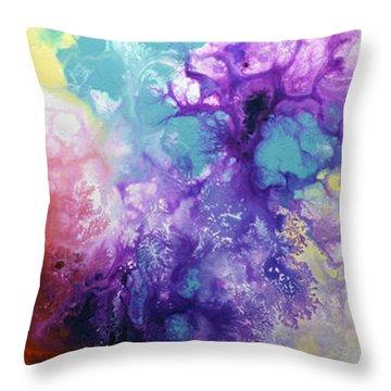 Healing Energies Throw Pillow