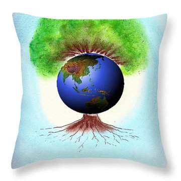 Health Throw Pillow
