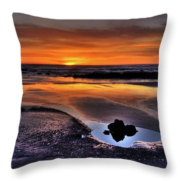 Heart Of The Central Coast Throw Pillow