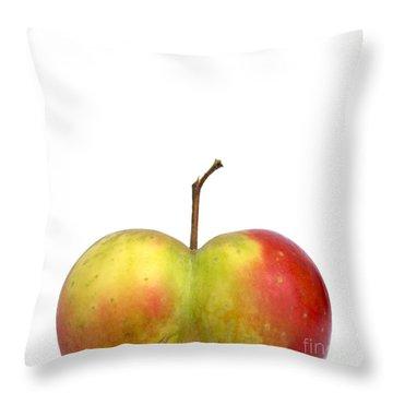 Heart.apple. Throw Pillow by Bernard Jaubert