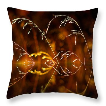 Throw Pillow featuring the photograph Heartbeat by Vicki Pelham