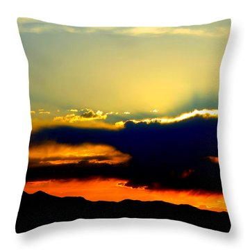 Throw Pillow featuring the photograph Heaven Is Watching by Jeanette C Landstrom