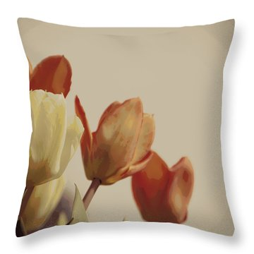 Throw Pillow featuring the photograph Heavenly Glow by Marilyn Wilson