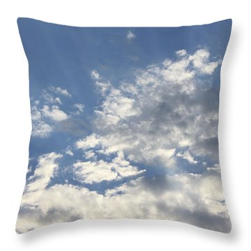 Heavenly Throw Pillow by Inspired Arts