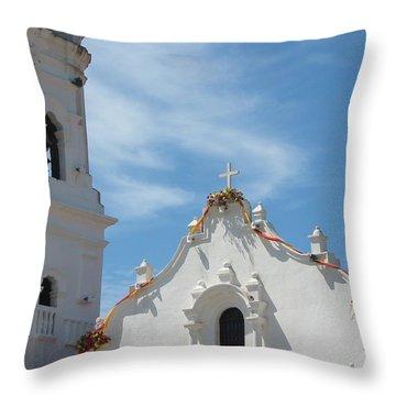 Heavenly Roofline Throw Pillow