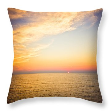 Throw Pillow featuring the photograph Heavenly by Sara Frank
