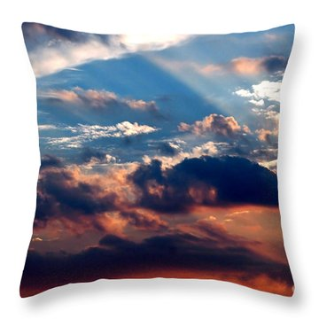 Heavens Above 2 Throw Pillow