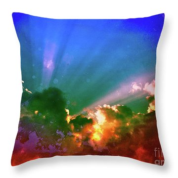 Heaven's Jewels Throw Pillow by Kevyn Bashore