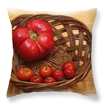 Heirloom Throw Pillow by Judi Bagwell