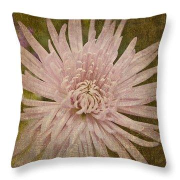 Heirloom Pink Throw Pillow