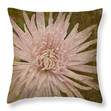 Heirloom Pink Throw Pillow