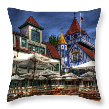 Helen Lunch Throw Pillow by Greg and Chrystal Mimbs