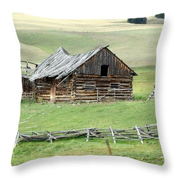 Helena Ranch Throw Pillow by Marty Koch