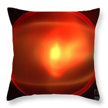 Heliosphere Throw Pillow by Kim Sy Ok