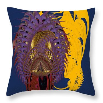 Here In My Heart Throw Pillow