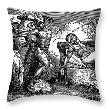 Heresy: Torture, C1550 Throw Pillow by Granger