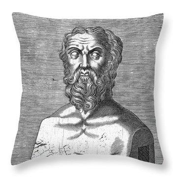 Herodotus Throw Pillow by Granger