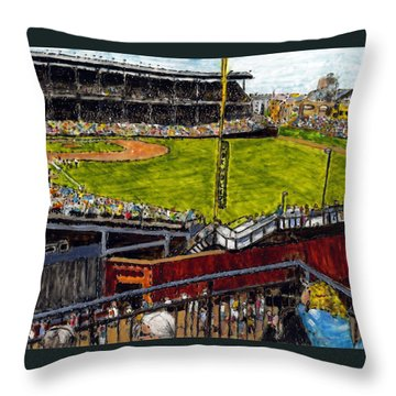 Hey Hey 353 Throw Pillow by Phil Strang