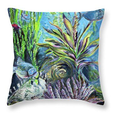 Hidden Odyssey Throw Pillow