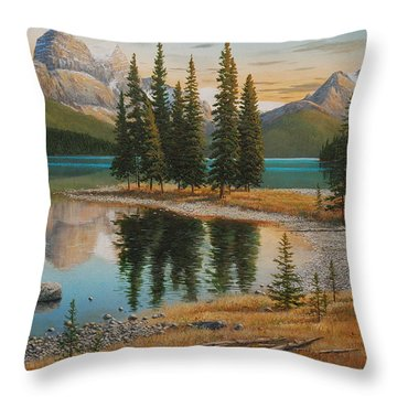 Hidden Treasure Throw Pillow