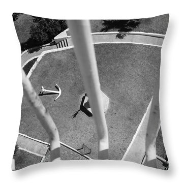 High And Dry Throw Pillow by Luke Moore
