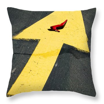 High Heel And Arrow Throw Pillow by Garry Gay