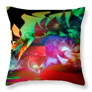 High Hopes Throw Pillow by Linda Sannuti