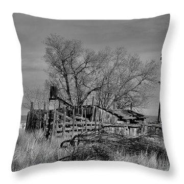 High Plains Wind Throw Pillow