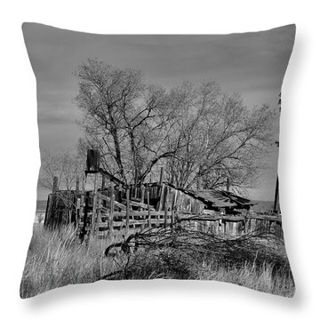 High Plains Wind Throw Pillow