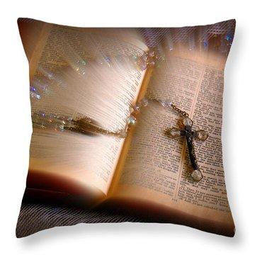 Higher Power Throw Pillow
