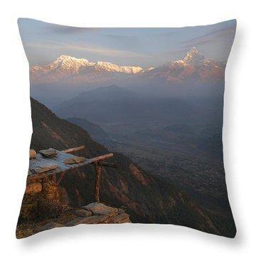 Himalaya Throw Pillows