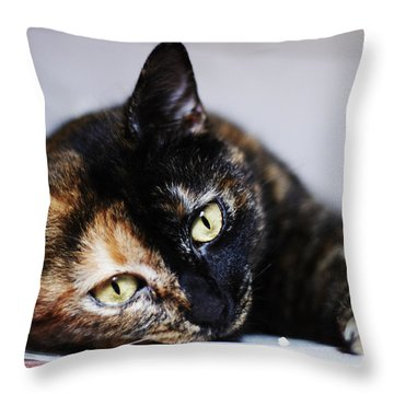 Himawari Throw Pillow