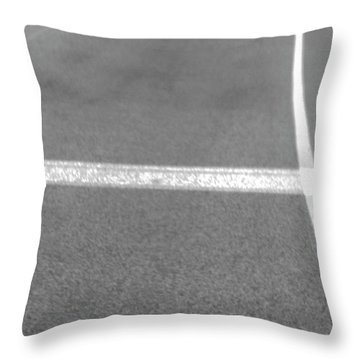 Hitch Hiker Throw Pillow by Empty Wall