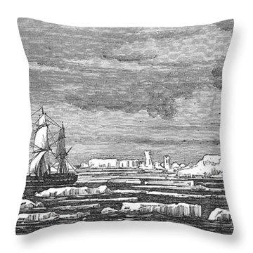 Hms Challenger, 1874 Throw Pillow by Granger
