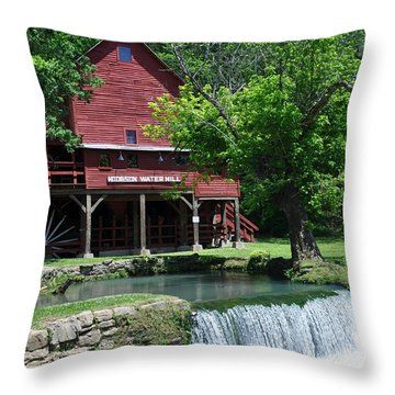 Hofgens Mill Throw Pillow by Marty Koch