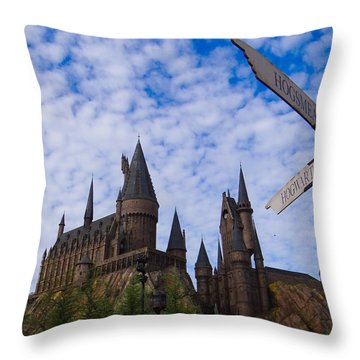 Hogwarts Castle Throw Pillow