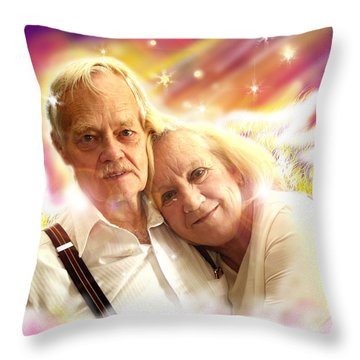Holden.angelic  Throw Pillow