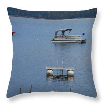 Holding On To Summer Throw Pillow by Michael Mooney