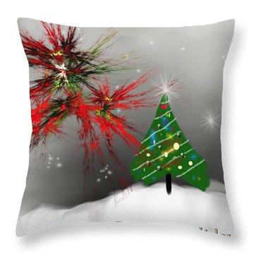 Holiday Card 2011a Throw Pillow