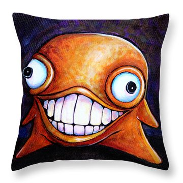 Hollywood Glob Throw Pillow by Leanne Wilkes